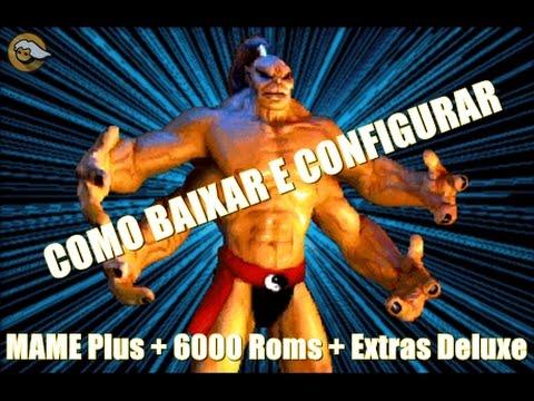 MAME Plus + 6000 Roms + Extras Deluxe Torrent (ATUALIZADO